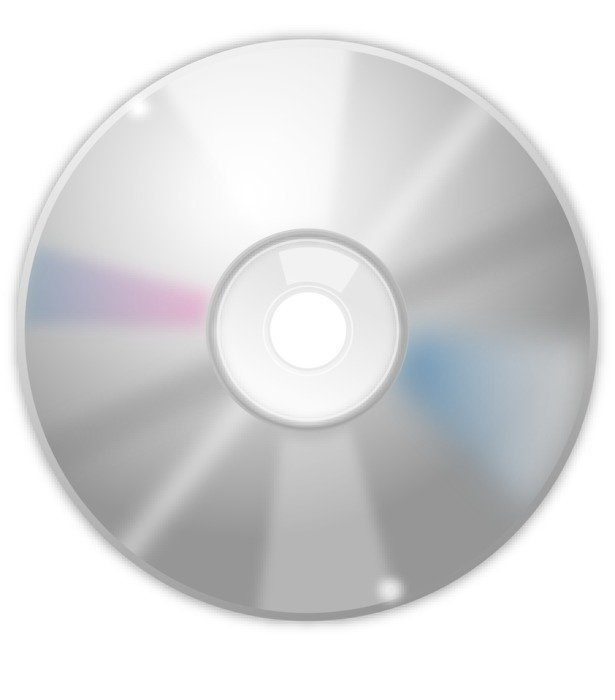 cd rom as picture