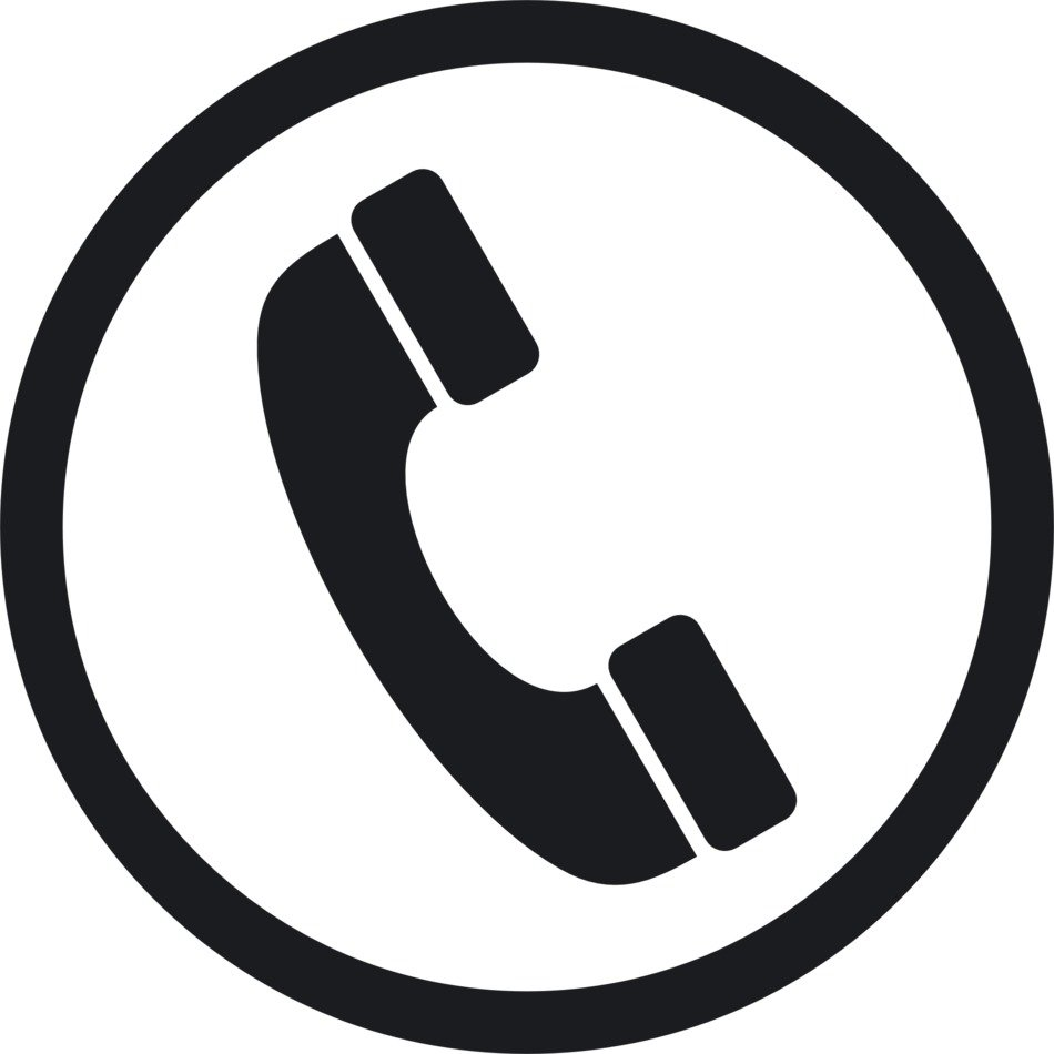 sign of the phone line