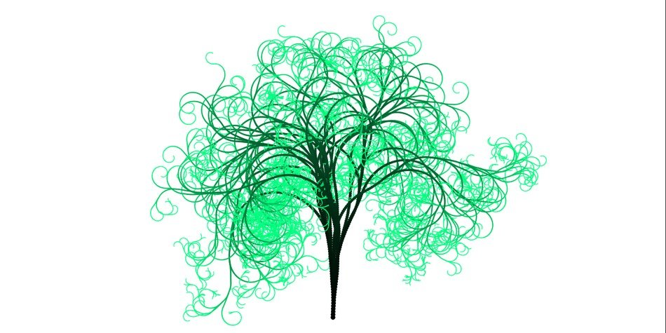 tree green art branches aesthetic tribe log
