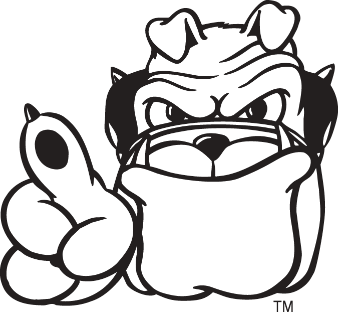 Georgia Bulldogs Logo Coloring Pages N2 Free Image