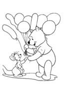 Disney Winnie The Pooh Coloring Pages drawing