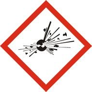 Explosives, Physical Hazard Sign