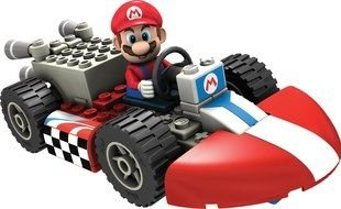 Mario Kart lego drawing