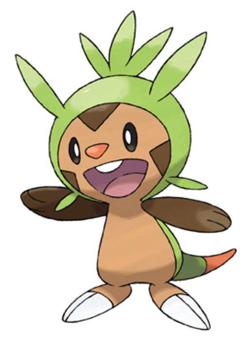 Pokemon X And Y Chespin drawing