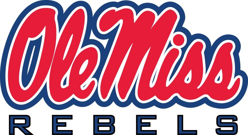 Ole Miss rebels Logo drawing