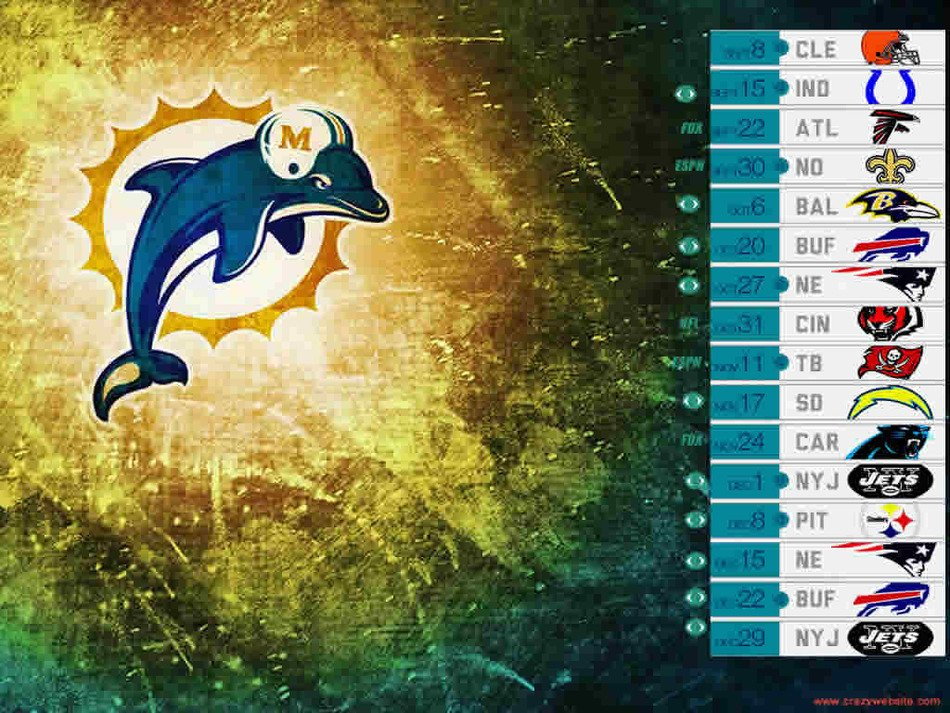 Miami Dolphins drawing