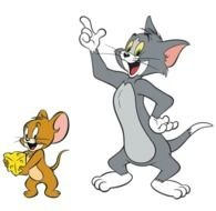 Tom Y Jerry drawing