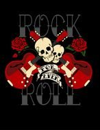 Colorful Bruna Pepper Rock N Roll Clipart