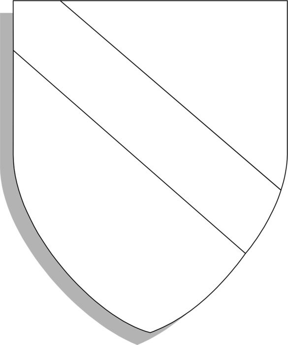 blank crest shield template n4 free image