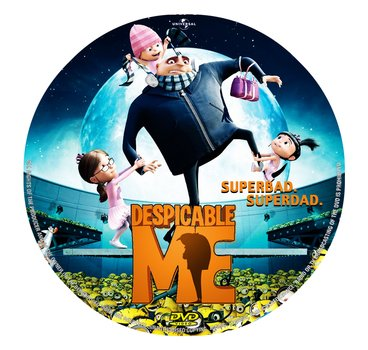 Despicable Me DVD Cover drawing