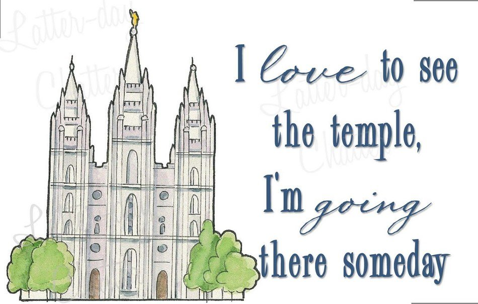 Clip art of Temple