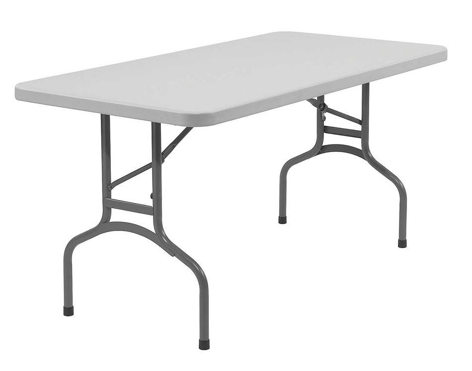 Plastic Folding Table as a drawing