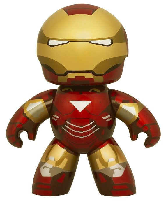 little iron man figure