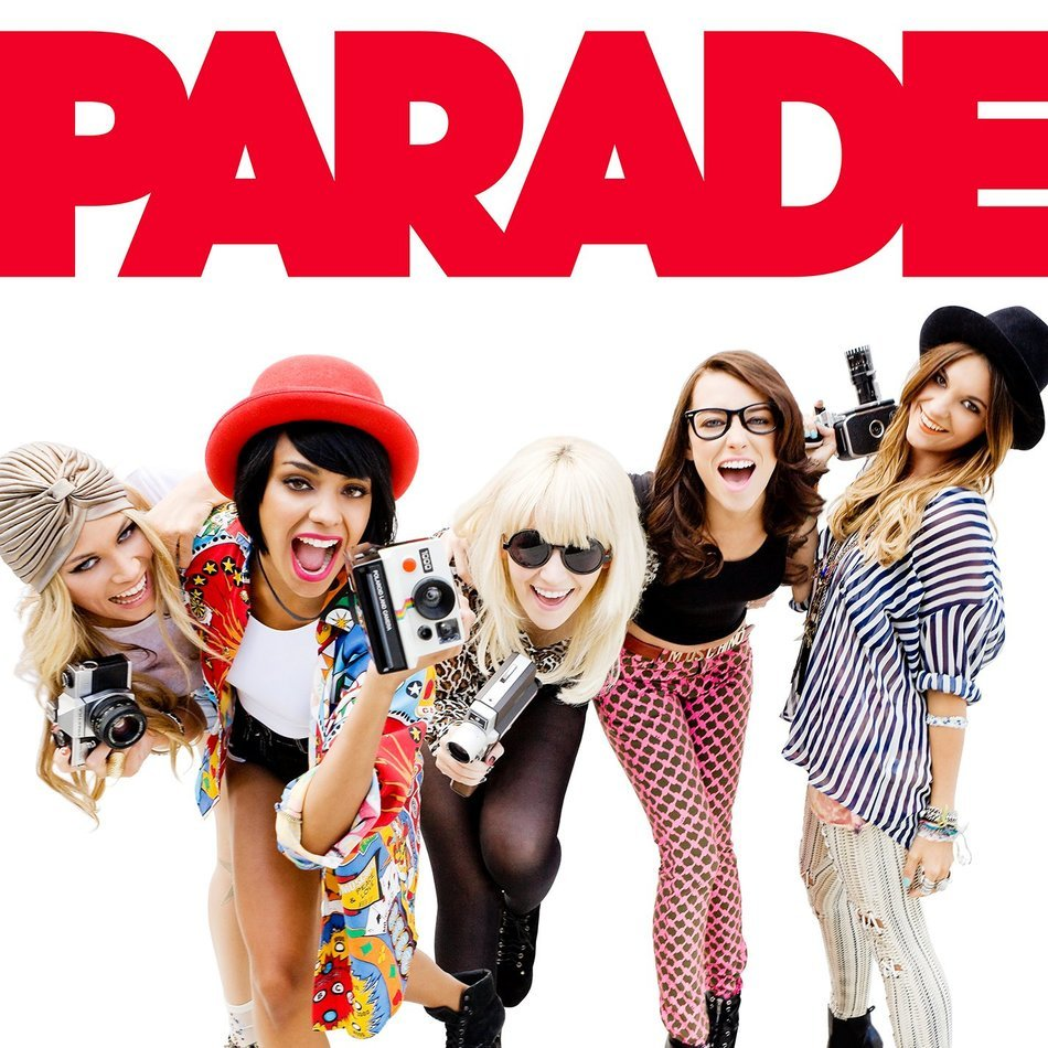 parade, cover of Girl Band Album
