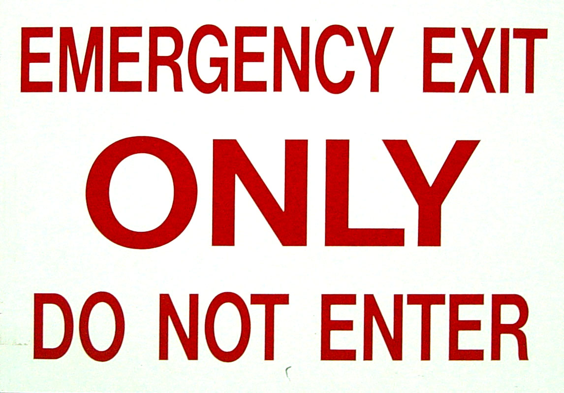 Free Exit Sign Clipart, Download Free Clip Art, Free Clip Art on Clipart  Library