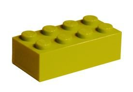 clipart of the yellow lego block