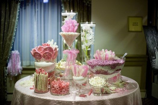 Picture of Wedding Candy Buffet Table