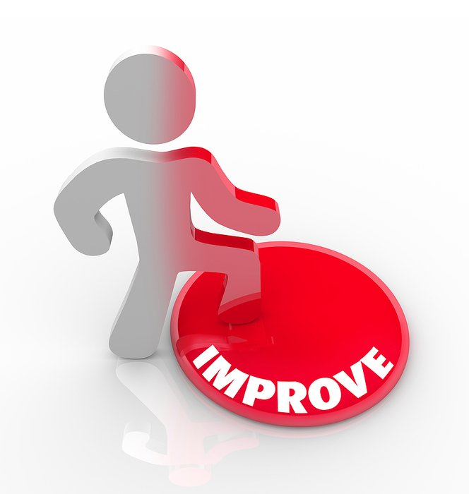 Sign of the self improvement clipart