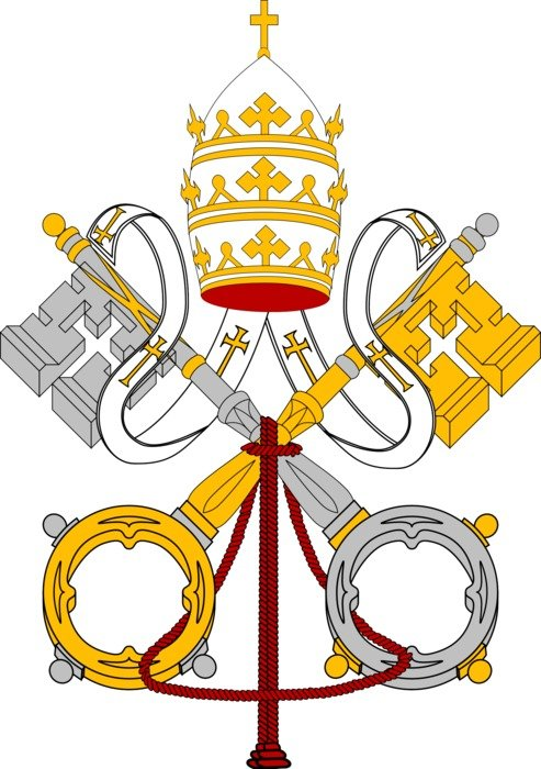 Vatican symbol as a picture for clipart