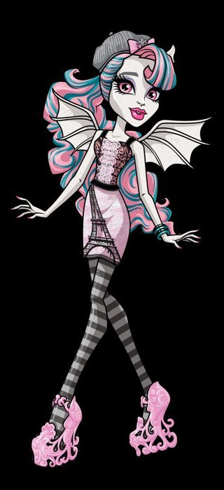 Monster High Rochelle clipart