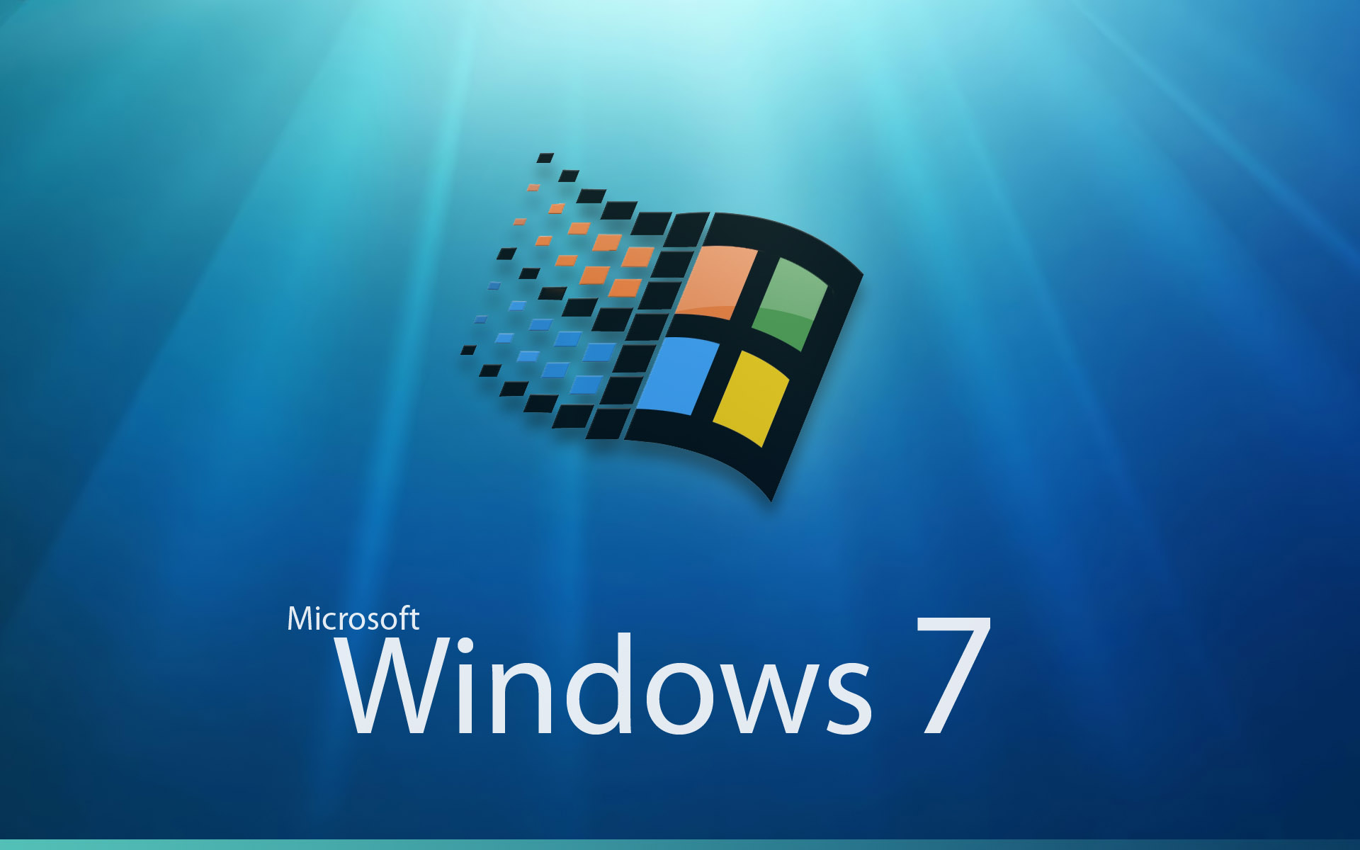 Microsoft Windows 7 Logo free image