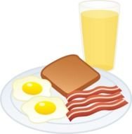 Breakfast Food, Clip Art