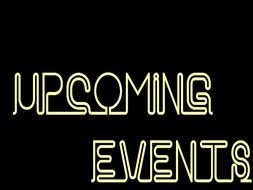neon Upcoming Events drawing