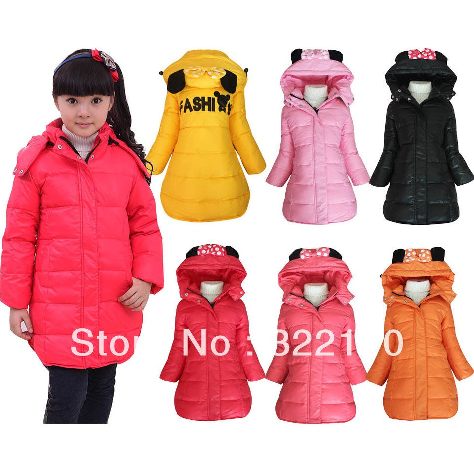 children's jackets for girls of different colors