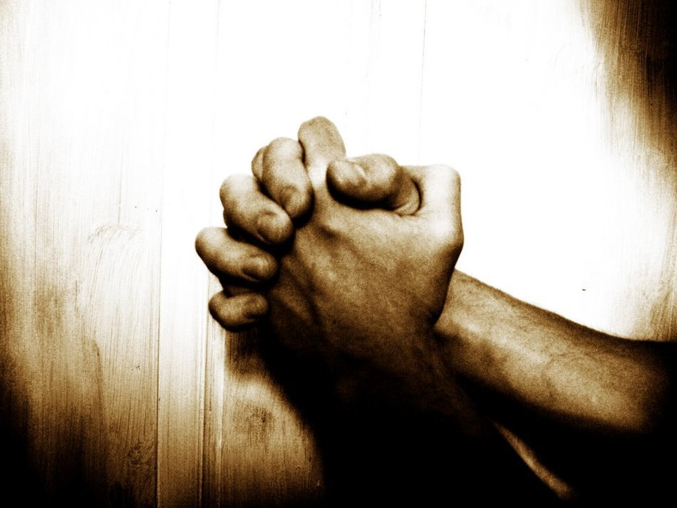 male Prayer Hands
