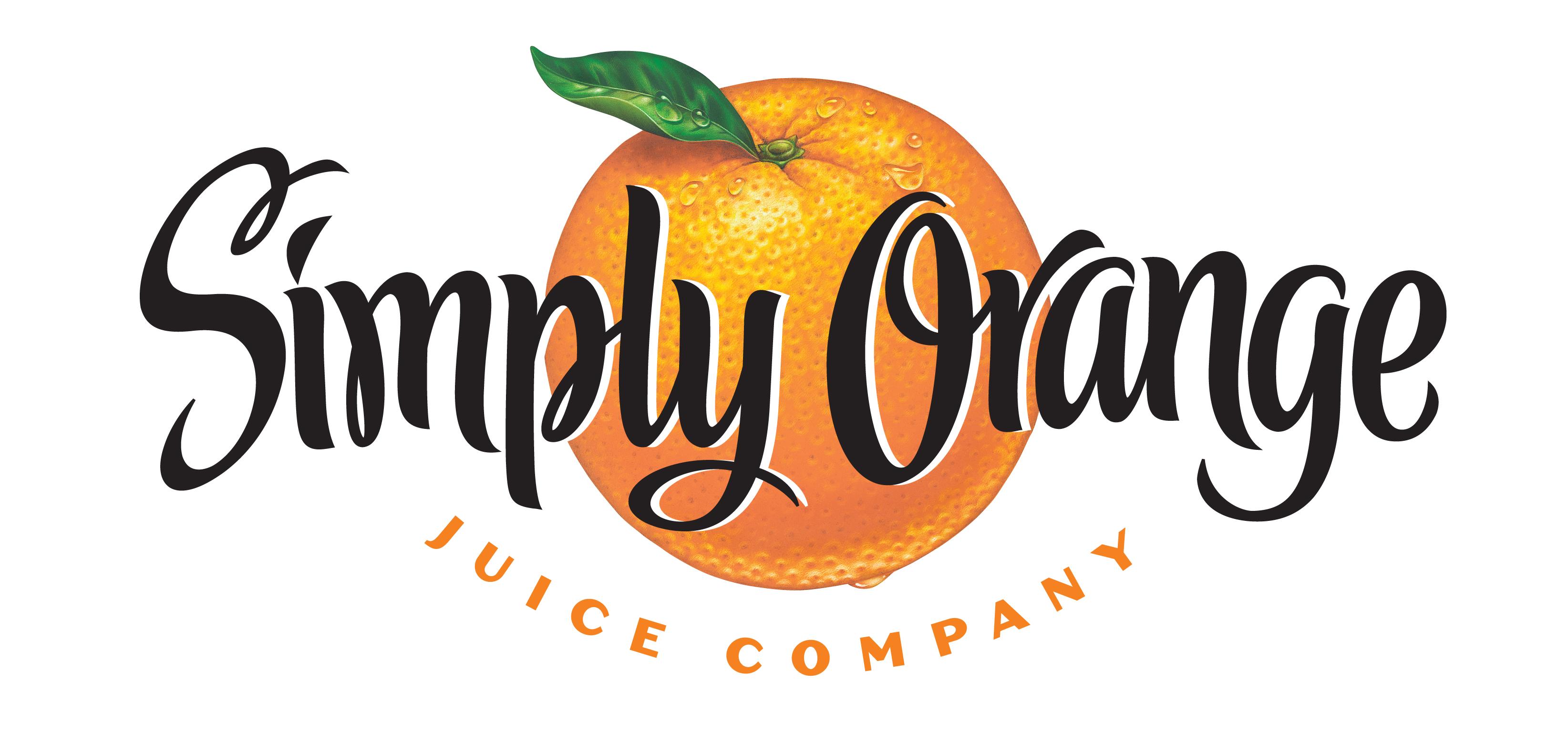 Simply Orange Juice Logo free image
