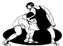 Wrestling drawing