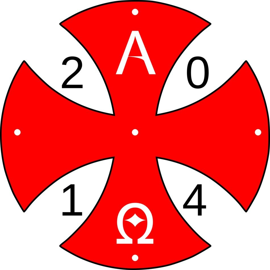 Paschal symbol for 2014