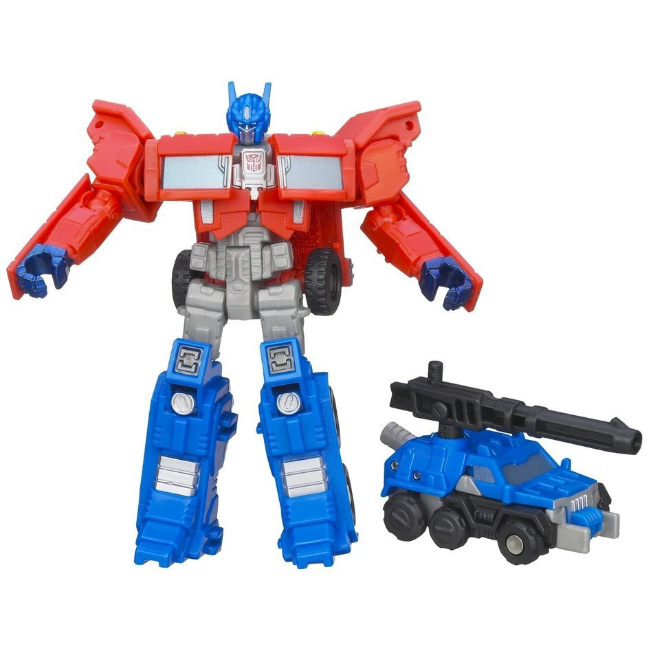 Clip art of Transformers Optimus Prime toy