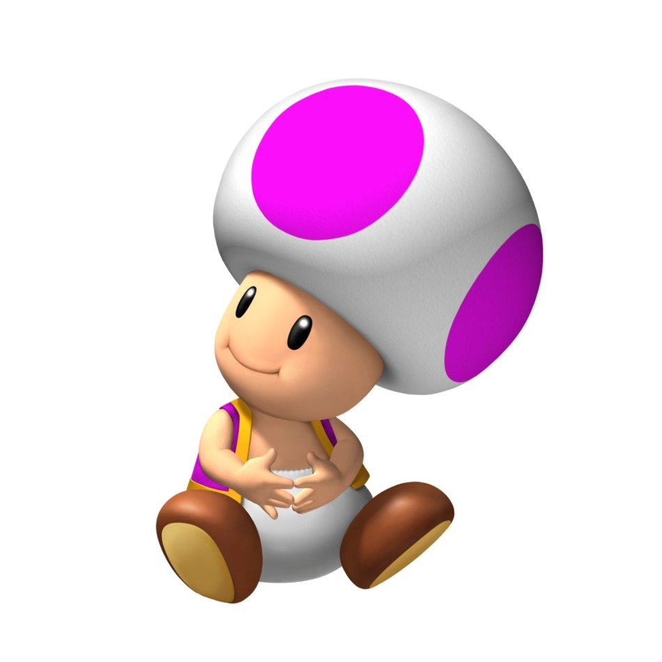 toad, mario game character