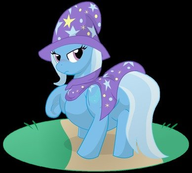 My Little Pony Trixie Pregnant drawing