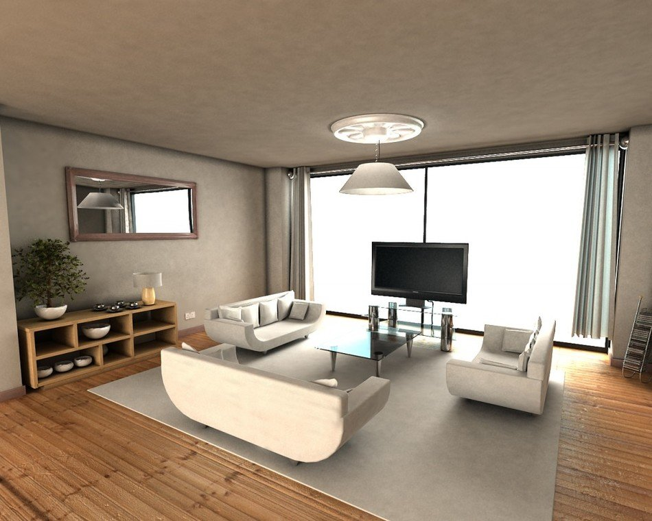 Apartment Living Room Interior