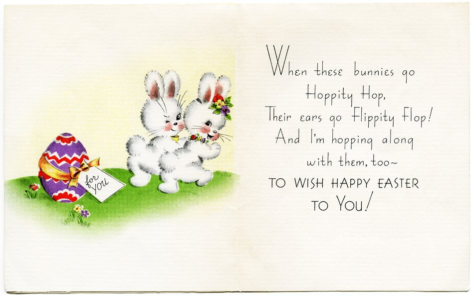 Vintage Easter Cards drawing