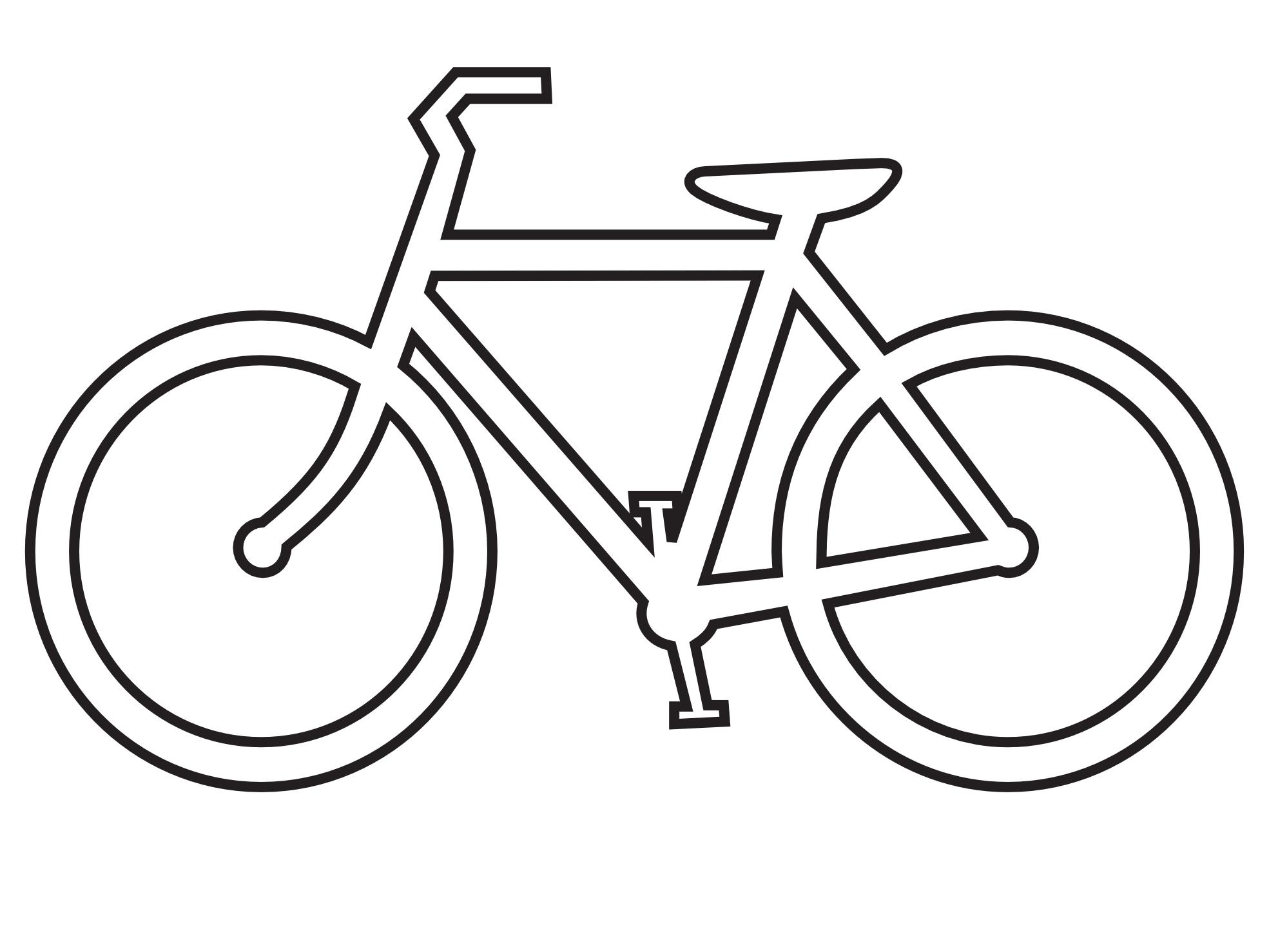 Dibujos De Bicicletas Para Colorear Y Pintar Una Bici Free Image