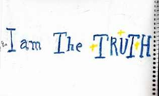 I AM The Truth drawing