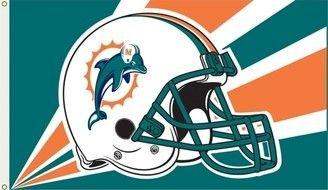Miami Dolphins New Helmet Logo drawing