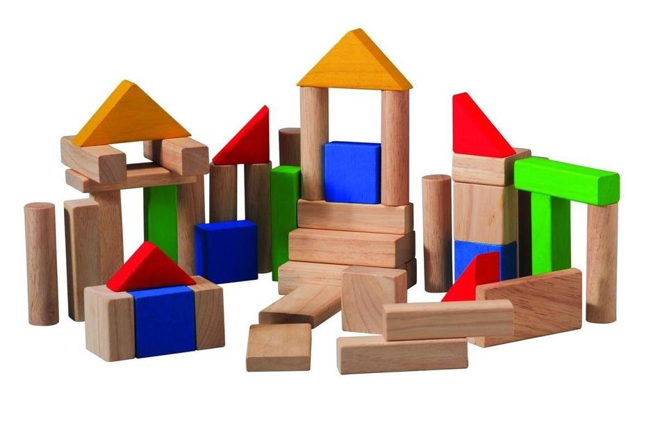 Wooden Blocks play set, Clip Art