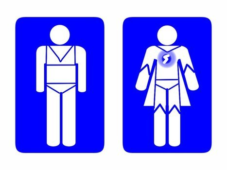 İllustration of the Restroom Signs
