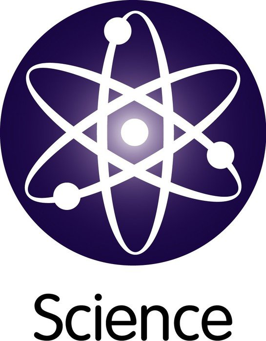 Icon of science clipart