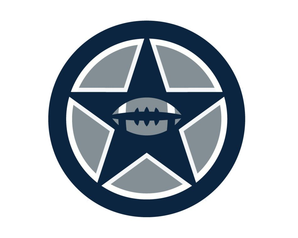 Dallas Cowboys Emblem drawing