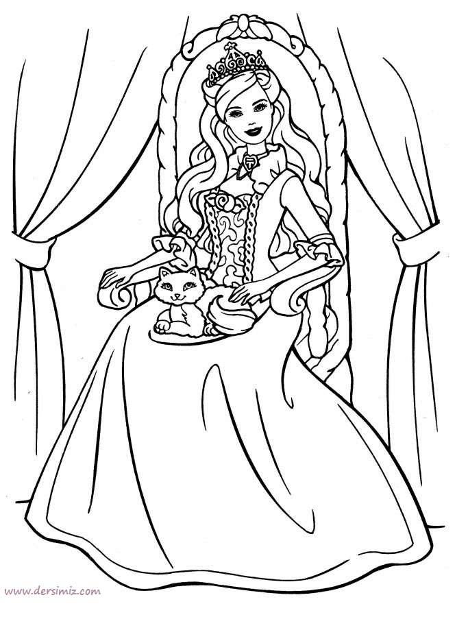 Barbie Boyama Ka 287 305d 305 Resmi Free Image