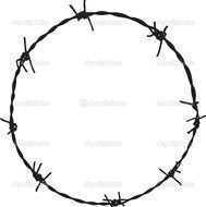 Barb Wire Circle