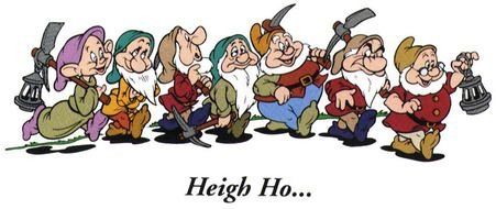 The Seven Dwarfs clipart