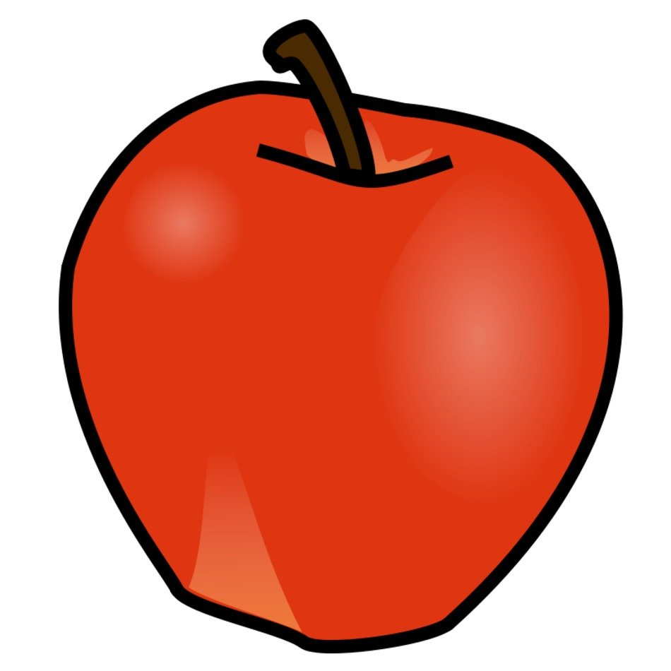 Apple Fruit as a picture for a clipart