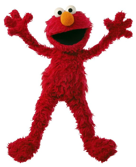 Elmo Monster Sesame drawing
