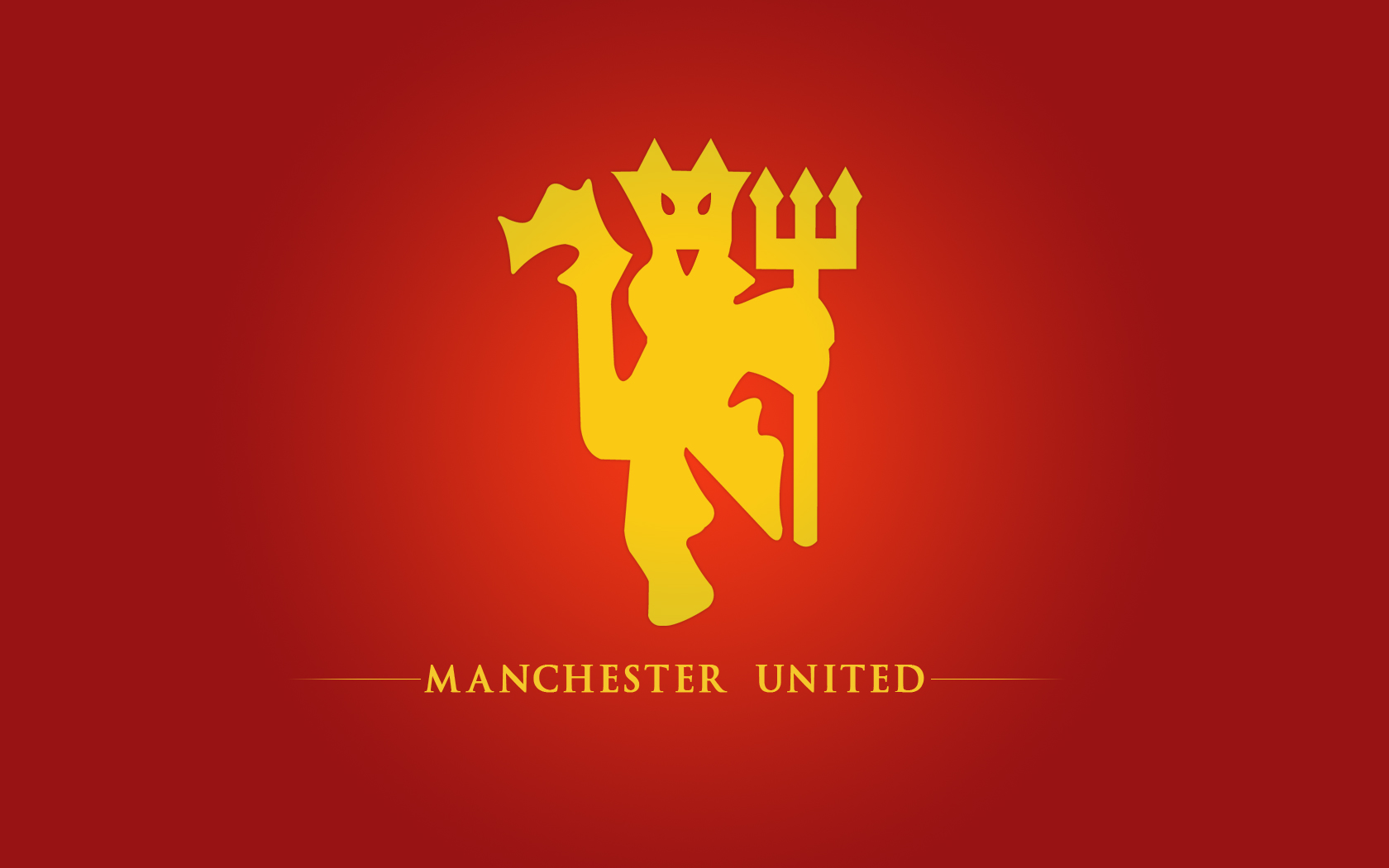 Clipart Of The Manchester United Red Devil Logo Free Image